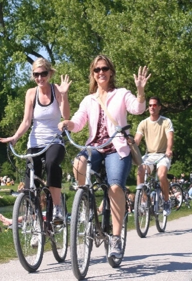Munich sightseeing tours - standard bike tour of Munich